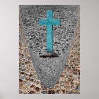 La cruz de Christopher Póster