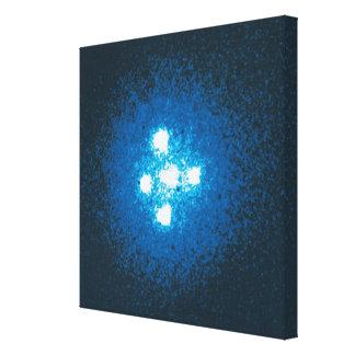 La cruz de Einstein Lona Estirada Galerías