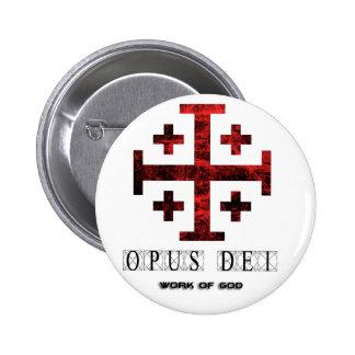 La cruz de Jerusalén - opus Dei - trabajo de dios Pin
