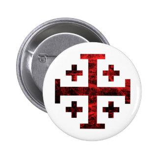 La cruz de Jerusalén Pins