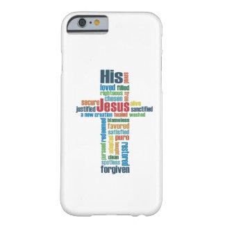 La cruz de Jesús Funda Barely There iPhone 6