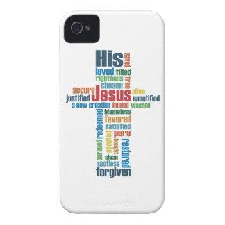 La cruz de Jesús Funda Para iPhone 4 De Case-Mate