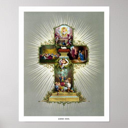 La cruz de Pascua Impresiones