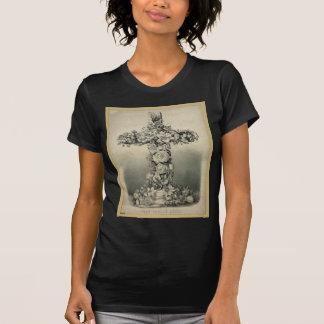 La cruz de Pascua por el curtidor y Ives 1869 Camisetas