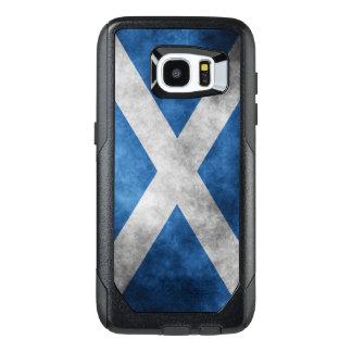 La cruz de St Andrew del grunge de Escocia Funda OtterBox Para Samsung Galaxy S7 Edge