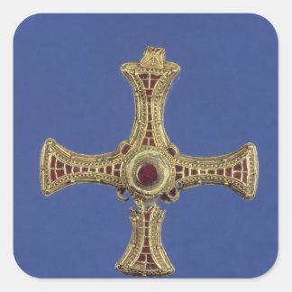 La cruz de St Cuthbert Colcomanias Cuadradases