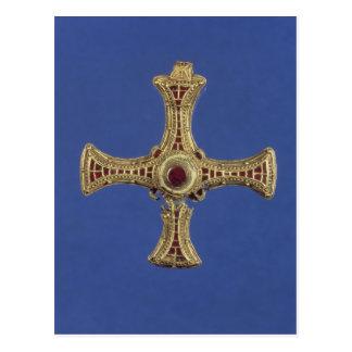 La cruz de St Cuthbert Tarjeta Postal