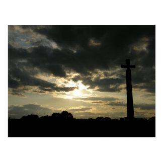 La cruz de St Cuthbert Tarjetas Postales