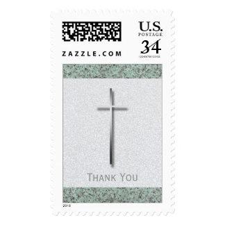 La cruz del metal/el entierro de piedra le envio