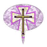 La cruz en Foil> Decoración Para Tarta