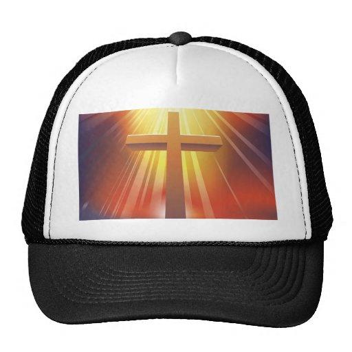 La cruz gorros bordados