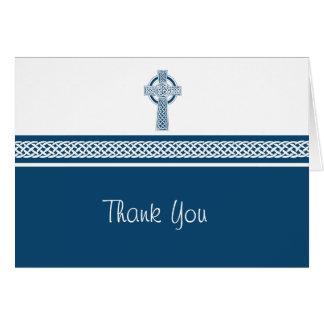 La cruz le agradece tarjeta de nota