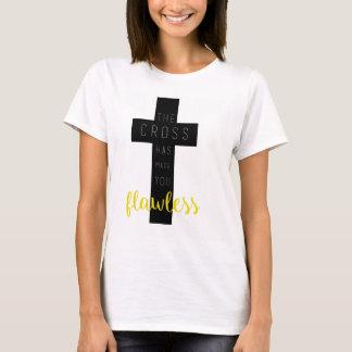 La cruz le ha hecho sin defectos - camisa