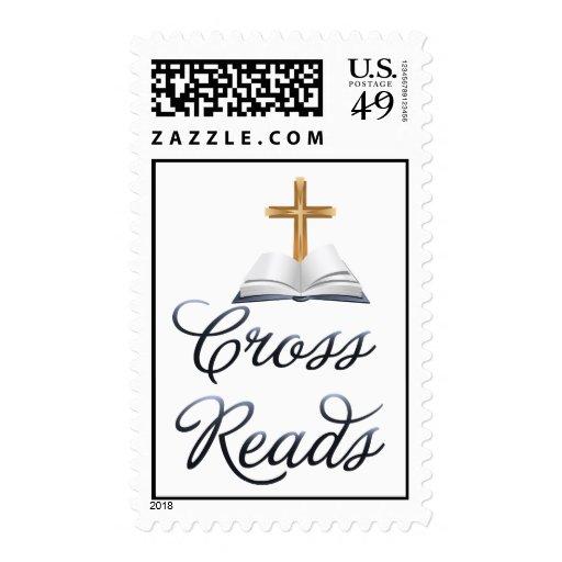La cruz lee sellos