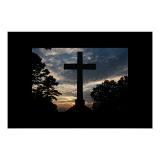La cruz póster