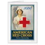 La Cruz Roja americana sirve humanidad Felicitaciones