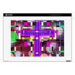 La cruz santa del vitral portátil 38,1cm skins