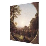 La cruz solitaria, 1845 impresiones de lienzo