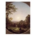 La cruz solitaria, 1845 postales