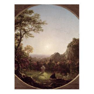 La cruz solitaria, 1845 tarjetas postales