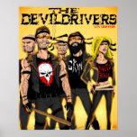 La cuadrilla de Devildrivers Impresiones