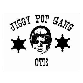 La cuadrilla Otis del estallido de Jiggy la Postal