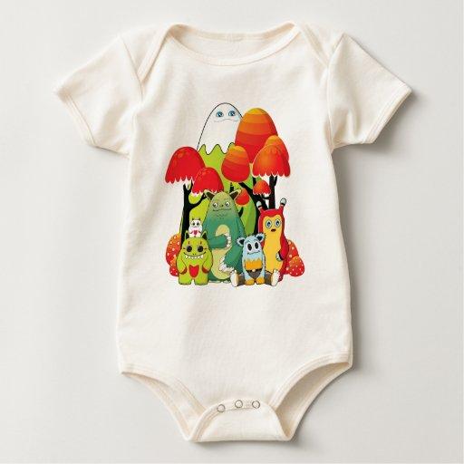 La cuadrilla trajes de bebé