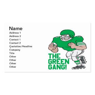 La cuadrilla verde tarjetas de visita
