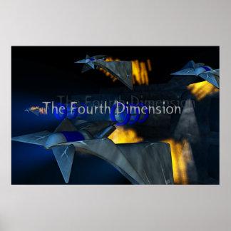 La cuarta dimensión poster