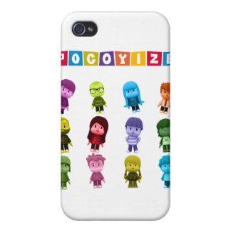 La cubierta 4 4S de IPhone pocoyize iPhone 4 Fundas