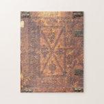 La cubierta de libro viejo puzzles