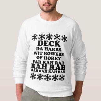 La cubierta de los hombres divertidos el suéter