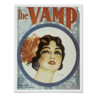 La cubierta del cancionero del vintage del empeine posters