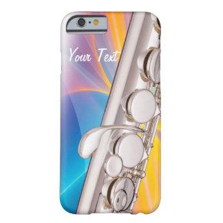 La cubierta del iphone de la flauta para el músico funda barely there iPhone 6
