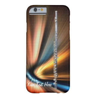 La cubierta del iphone de la flauta para el músico funda para iPhone 6 barely there