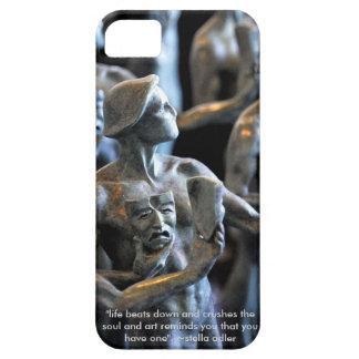 La cubierta del teléfono de la máscara de los iPhone 5 carcasas
