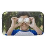 La cubierta hispánica del adolescente observa con tough iPhone 3 cárcasa