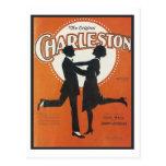 La cubierta original del cancionero del vintage de postal