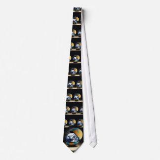 La cubierta protectora de la tierra corbata personalizada