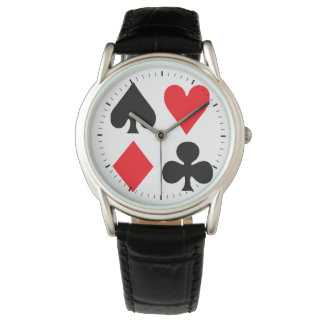 La cubierta relojes de pulsera