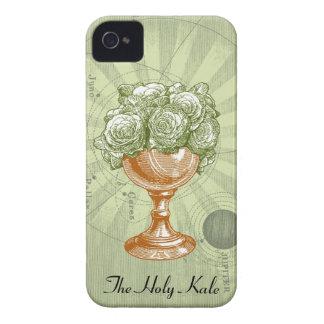 La cubierta santa 4G de IPhone de la col rizada Case-Mate iPhone 4 Cárcasas