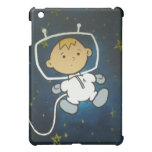 La cubierta sola del iPad del astronauta