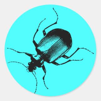 La Cucaracha Classic Round Sticker
