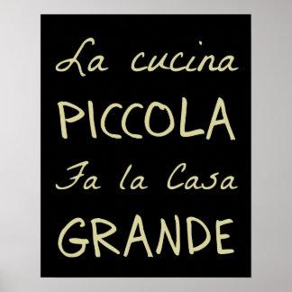 la cucina the kitchen poster