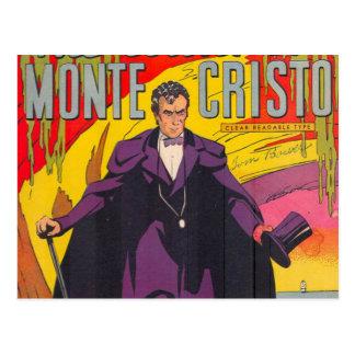 La cuenta de Monty Cristo cómica Postal