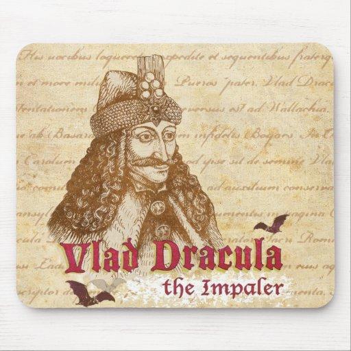 La cuenta histórica Drácula Alfombrilla De Ratón