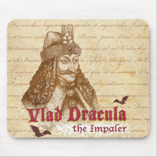 La cuenta histórica Drácula Mousepads