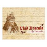 La cuenta histórica Drácula Tarjeta Postal