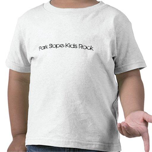 La cuesta del parque embroma la roca camisetas