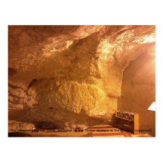 La cueva debajo de la roca (al-Aqsa) Postal